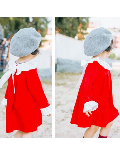 High-end Quality Toddler Girl Tutu Dresses Girls Vintage England Style Clothes Baby Beautiful Dress Gift Spring Long Sleeve Tutu