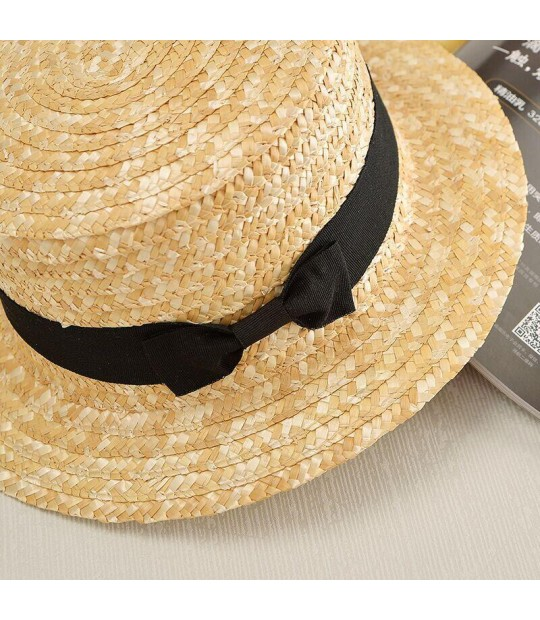 215b8e2b2 2017 new Summer Sweet Cute Vintage Bow gril Sun Hat Beach Hat Bowi...