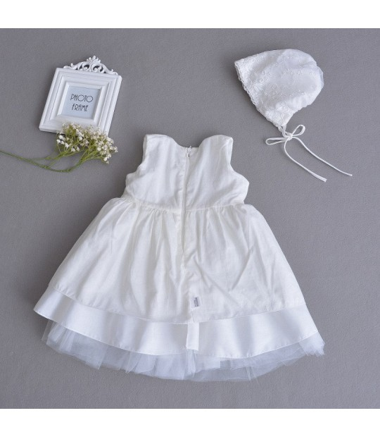 d0d514a5e ... Vintage White Baby Wedding Dress Summer Newborn Baby Girl Birthday Dress  Lace Toddler Girl Party Baptism ...