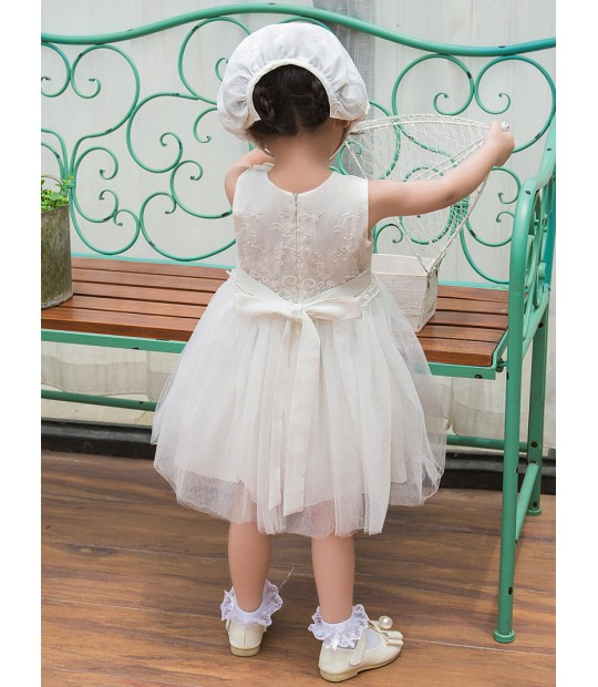 aa7ca8369 ... Vintage White Baby Wedding Dress Summer Newborn Baby Girl Birthday  Dress Lace Toddler Girl Party Baptism ...