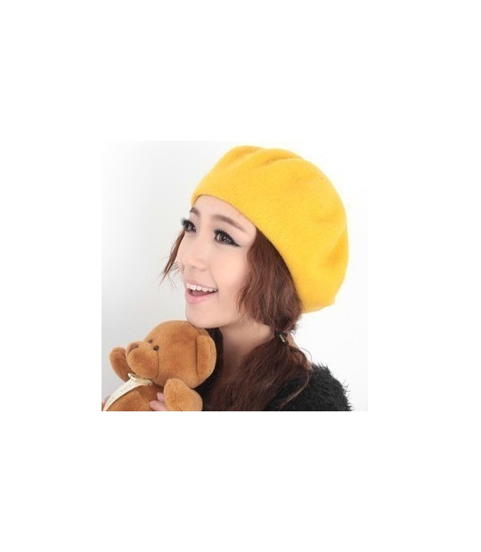 ... Winter Women Hat Vintage Berets Wool 32colors Cap Pillbox Hat Gorras  Planas Hombre Hats Beret Boinas ... 0f2fe36d441