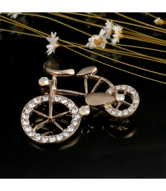 1bfa0950756 ... Women Vintage Brooches accessories Bike Style Brooch Pin Crystal  Rhinestone Jewelry Garment Accessory Nicely Hats Bijoux ...