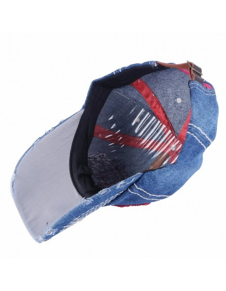 8b0fdd3e1af236 OHCOXOC women men new design baseball cap hat denim cotton good quality  embroidery letter outdoor girl
