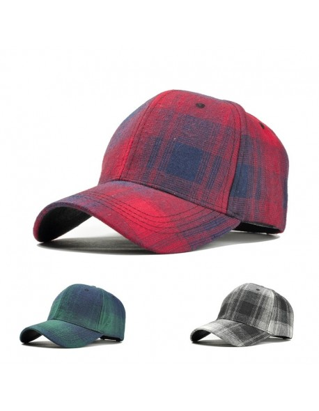Vintage Snapback Baseball Cap Black Plaid Trucker Dad Hat Women Men Caps  Summer Cotton Hat Fashion ad37ad0099e