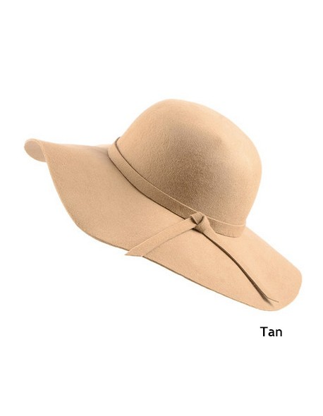 db1f7bb0ba05a2 2015 New Style Soft Child Sun hat Vintage Wide Brim Wool Felt Bowler Fedora Hat  Floppy