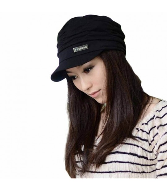 ... Fashion Bouffancy Unisex Army Cap Flat -Top Hat Student Hat Vintage  spring and winter Hat ... 061a8d1becc