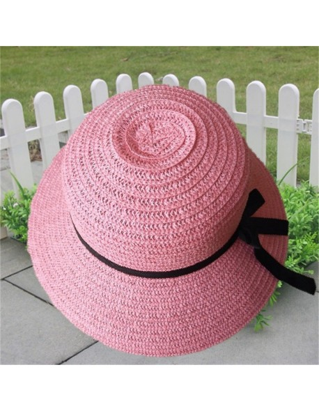 8eb4a3ed555 Fashion Floppy Foldable Ladies 2018 New Brand Women New Vintage Straw Beach  Sun Summer Hat Beige