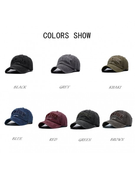 9843ed7cca2d50 Yijay sand washed 100% cotton baseball cap hat for women men vintage dad hats  NEW