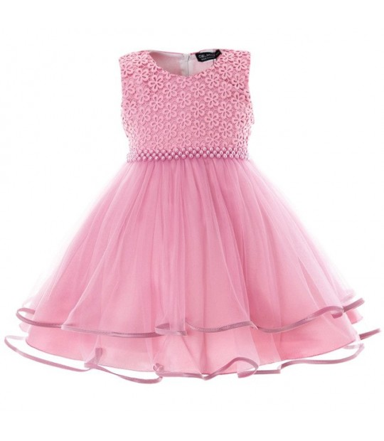 a6ae7784b2403 Mottelee Baby Girls Dress Infant Party Dresses Toddler Birthday Be...
