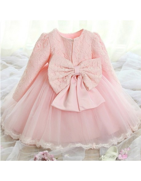 d92aae5648167 Toddler Girl Baptism Dress Christmas Costumes Baby Girls Princess Dresses 1  Year Birthday Gift Kids Party Wear Dresses For Girls