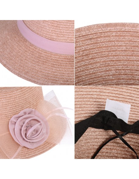 Kajeer Women's Fashion Vintage wool Wide-Brim Fedoras Hats for Women Bowler Floppy Feminino autumn Ladies Cap Winter Church Hat