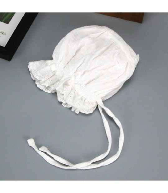 Bnaturalwell Baby Girls Vintage Style Hat Cotton Bonnet
