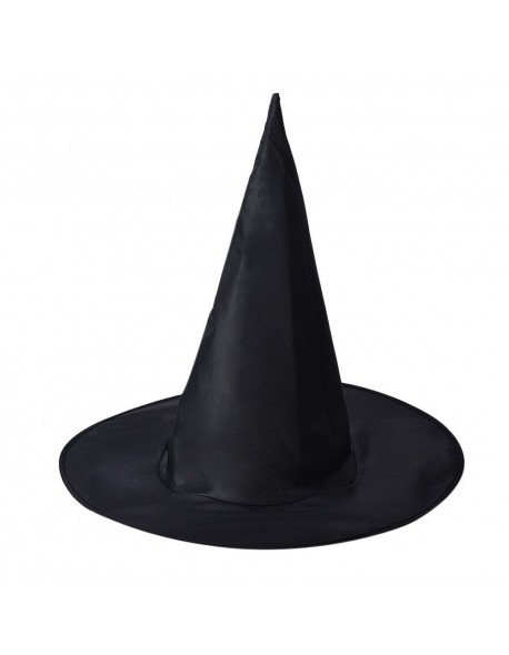Holiday gifts1Pcs Adult Womens Black Witch Hat For Halloween Costume Accessory vintage hats for women sun hat women nt0